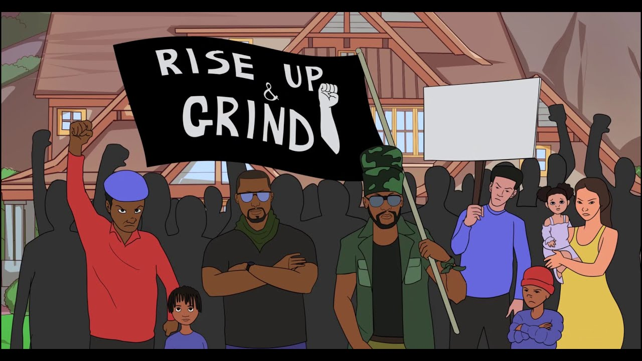 Rich Lindo feat. Perfect Giddimani - Rise Up And Grind [2/24/2021]