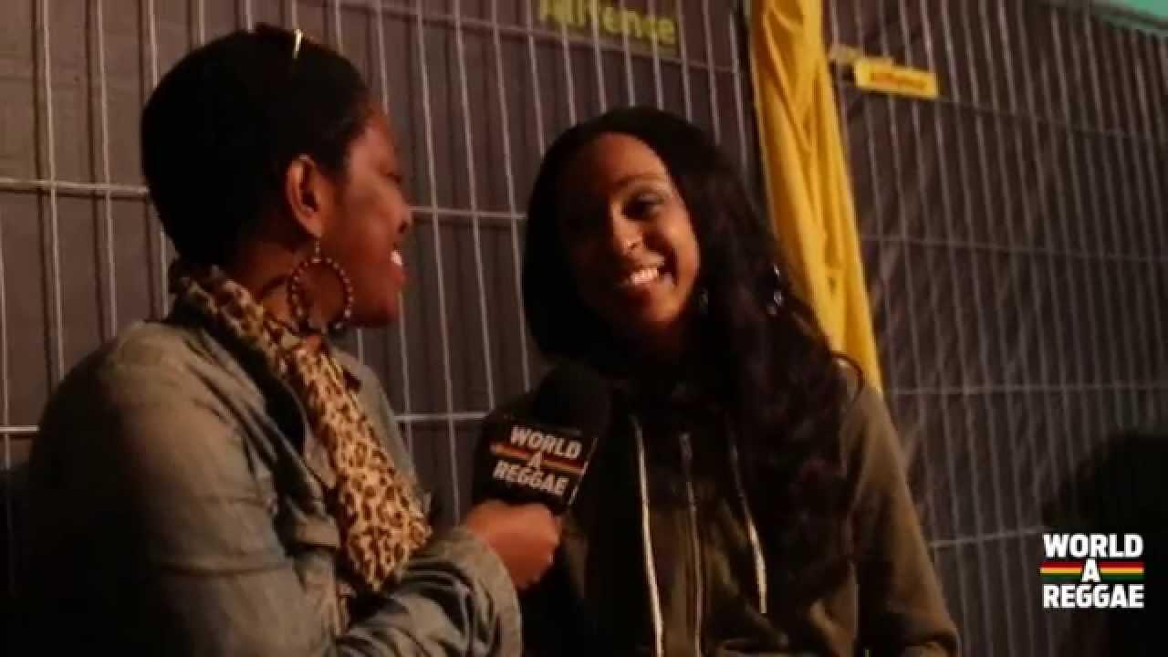 Interview with Alaine @ Reggae Sundance 2014 [8/10/2014]