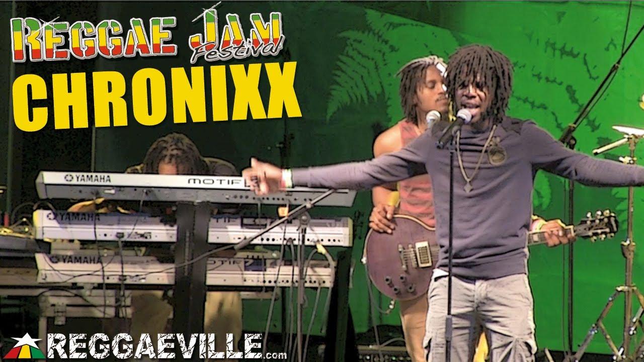 Chronixx & Zinc Fence Band @Reggae Jam [8/4/2013]