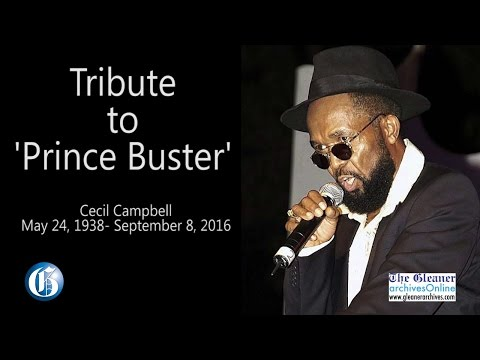 Picture This - Remembering Prince Buster (Jamaica Gleaner) [9/12/2016]