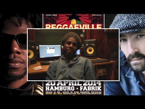 Drop: Chronixx, Dre Island & Kelissa @ Reggaeville Easter Special in Hamburg 2014 [3/17/2014]