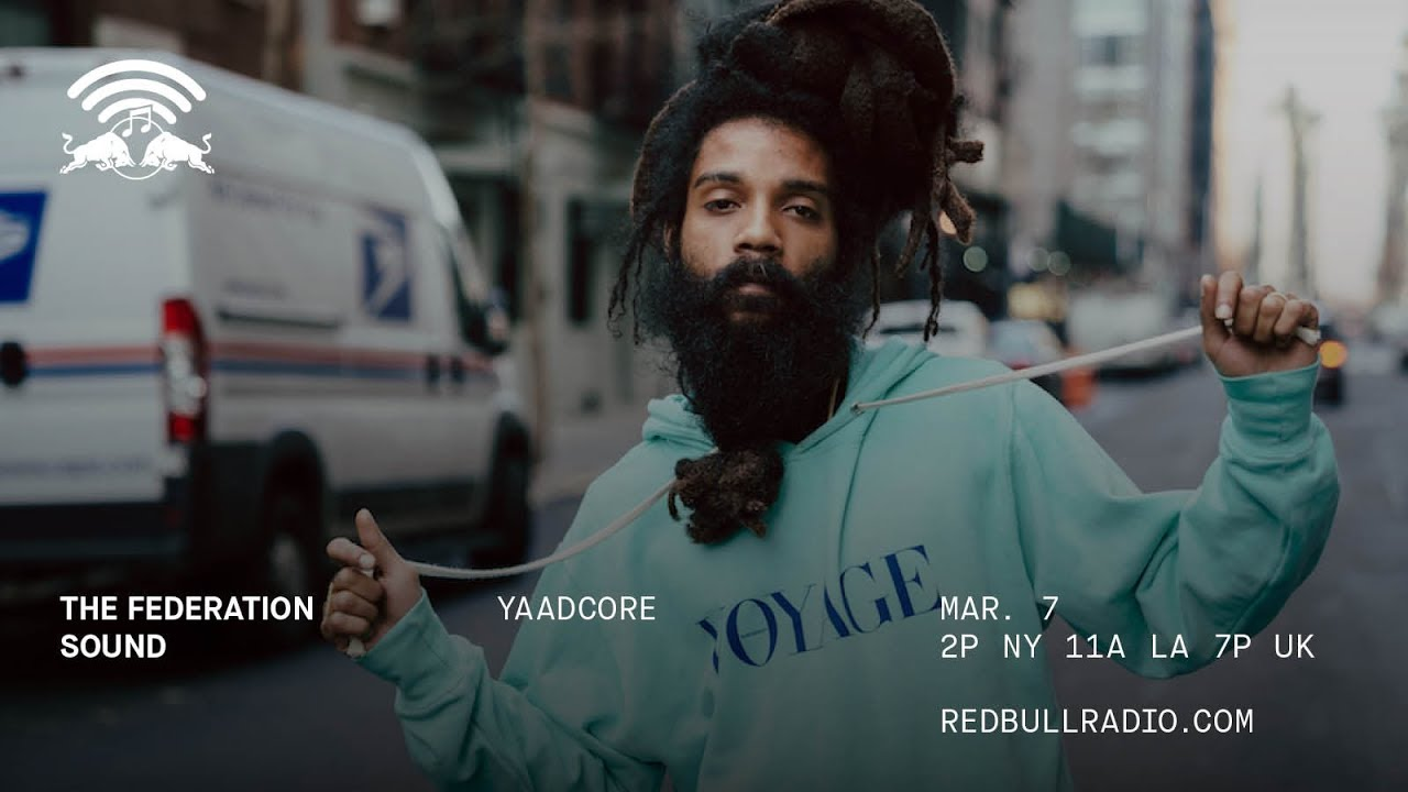 Yaadcore Interview by Max Glazer @ Red Bull Radio [3/7/2018]