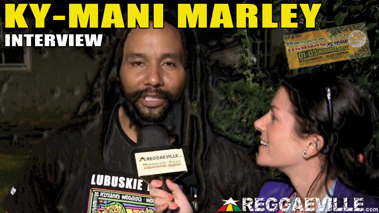 Interview with Ky-Mani Marley @Reggae Jam 2014 [8/3/2014]