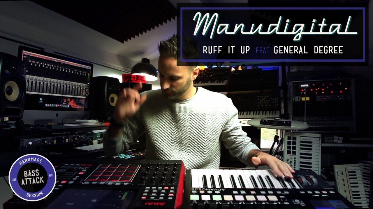 Manudigital feat. General Degree - Ruff It Up [10/26/2018]