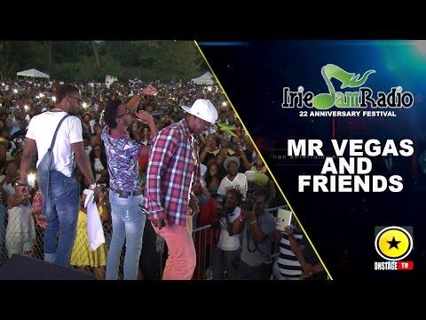 Mr. Vegas @ Irie Jam Radio Anniversary 2015 (Onstage TV) [9/6/2015]