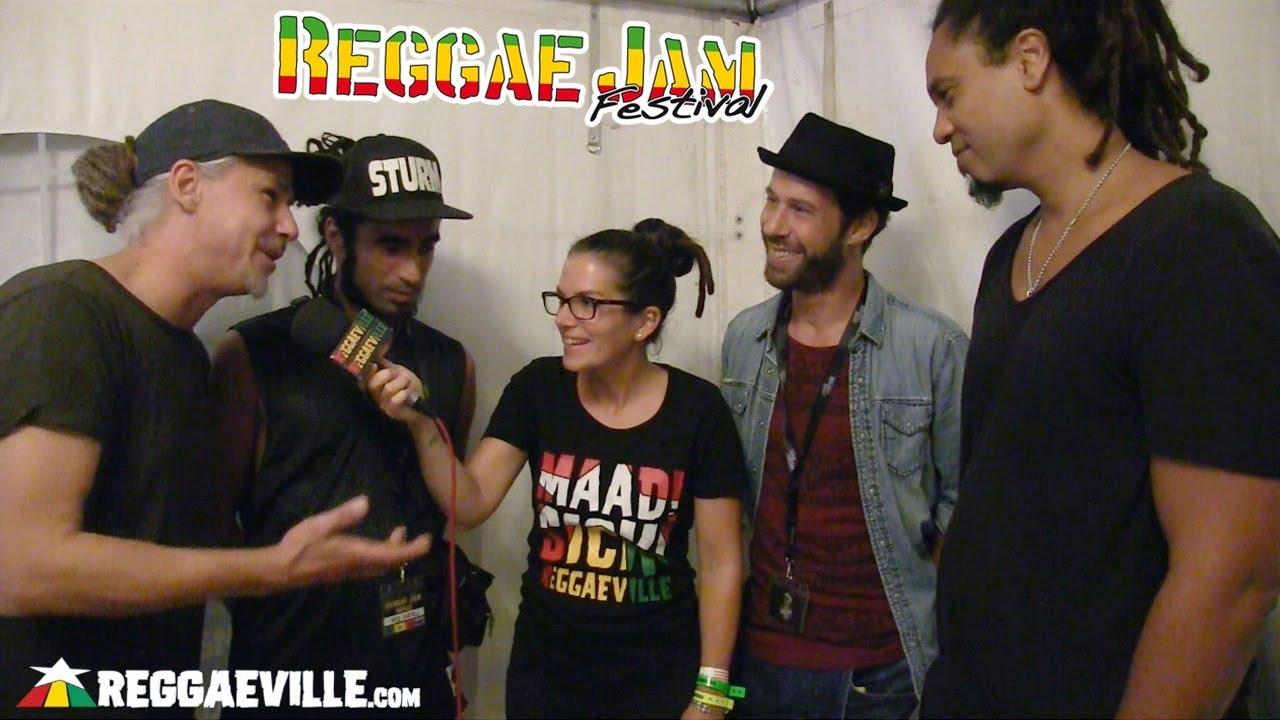 Klub Kartell: Dellé, Jahcoustix, Ganjaman & Sebastian Sturm - Interview @ Reggae Jam 2018 [8/4/2018]