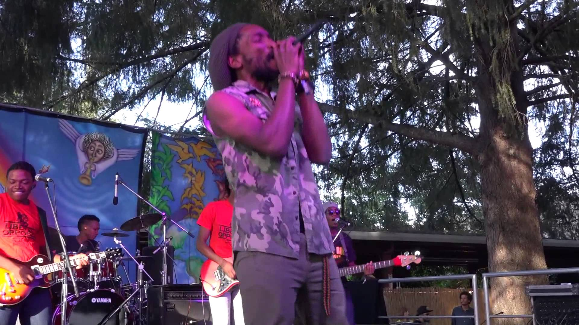 Kabaka Pyramid & The Bebble Rockers - Herb Defenda @ SNWMF 2014 [6/20/2014]