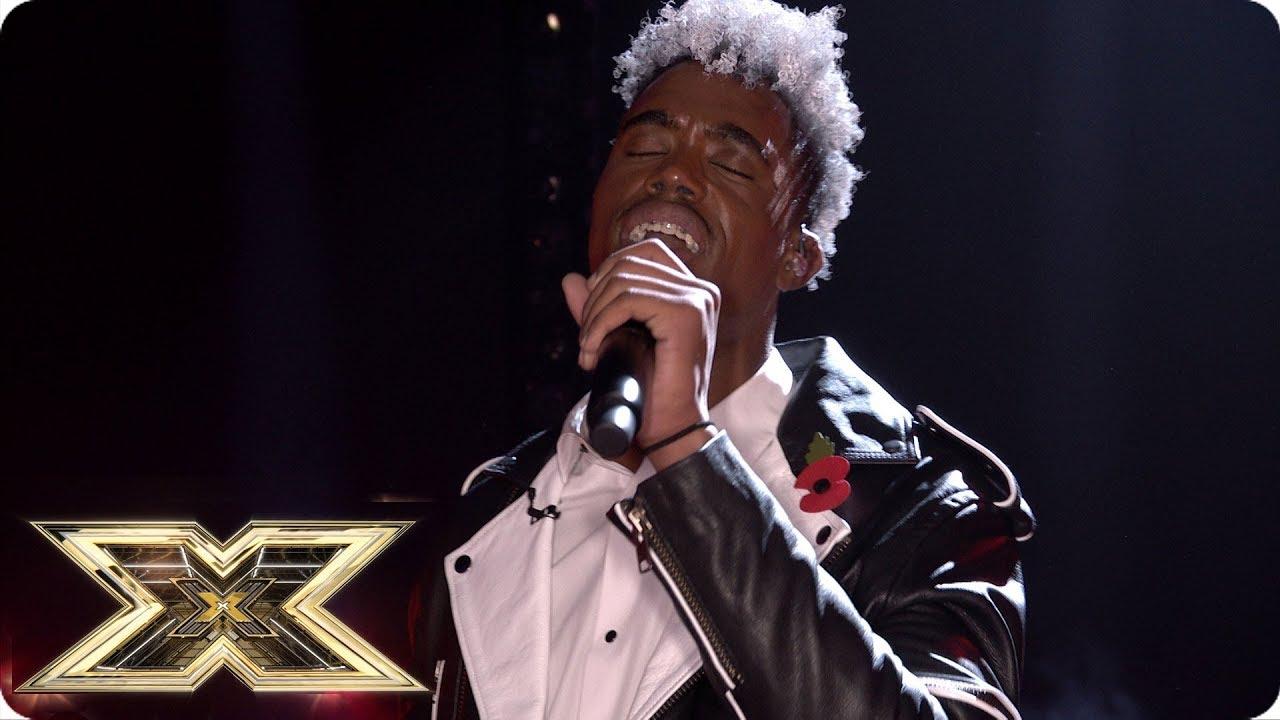 Dalton Harris - Creep @The X Factor UK 2018 - Live Shows Week 3 [11/2/2018]