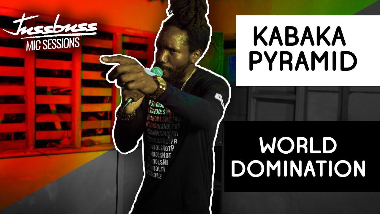 Kabaka Pyramid - World Domination @ Jussbuss Mic Sessions [6/11/2019]