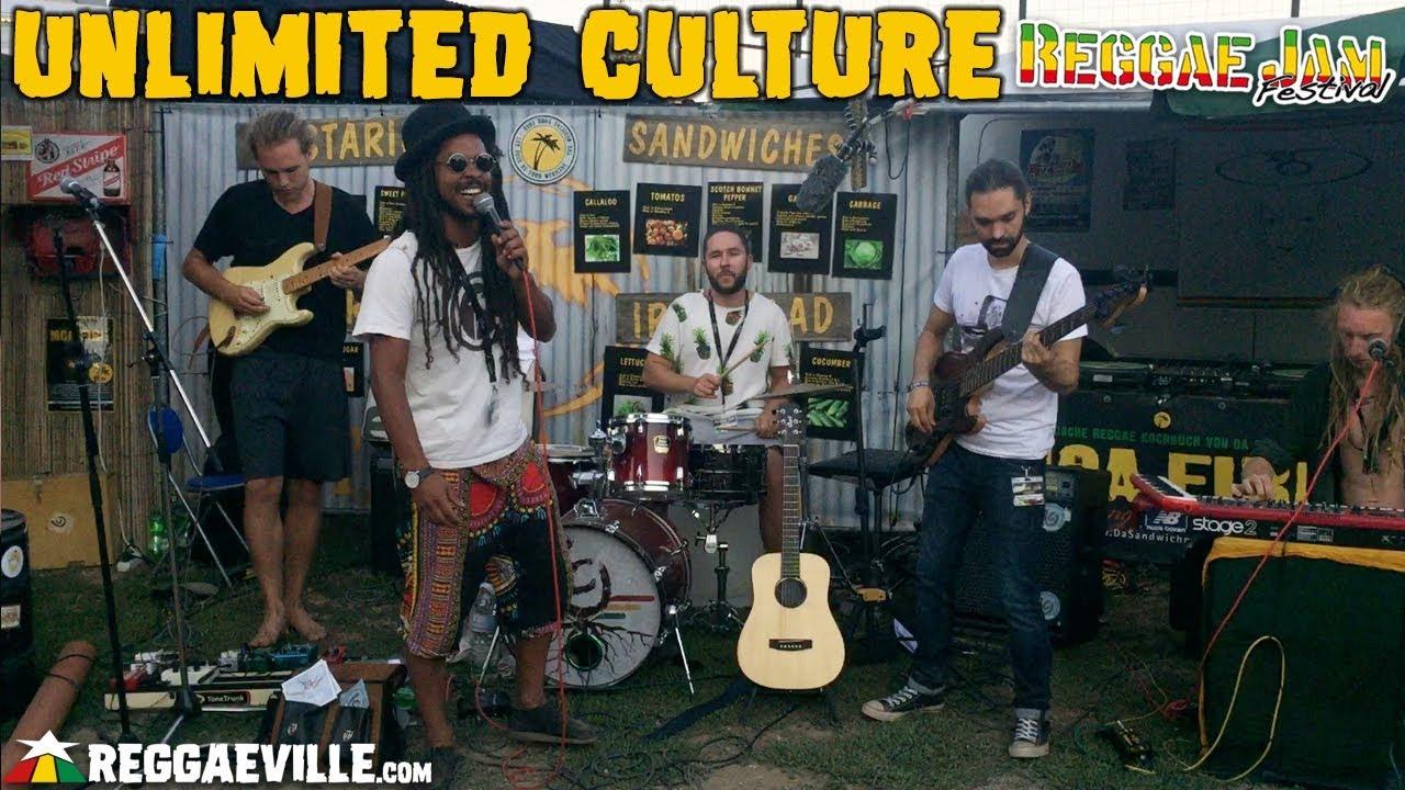 Unlimited Culture @ Da Sandwichmaker - Reggae Jam Festival 2018 [8/2/2018]