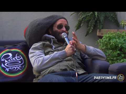 Alborosie interview & freestyle @ Party Time Radio [6/26/2018]