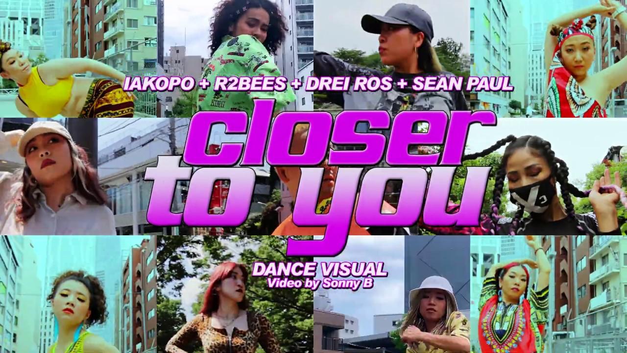 iakopo, Sean Paul, Mugeez (R2bees) , Drei Ros - Closer To You (Dance Video) [7/6/2020]