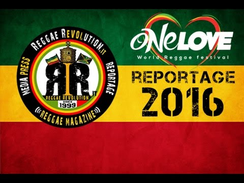 One Love World Reggae Festival 2016 - Videoreport [9/14/2016]