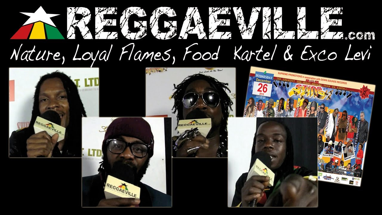 From Sting 2012: Nature, Loyal Flames, Food Kartel & Exco Levi [12/26/2012]