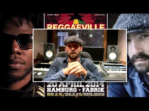 Drop: Gentleman & The Evolution @ Reggaeville Easter Special in Hamburg [3/18/2014]