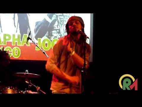 Ziggi Recado - Ganja Smoke in the Air / Liberation in Amsterdam, Netherlands @ Reggae Unplugged 2015 [3/21/2015]