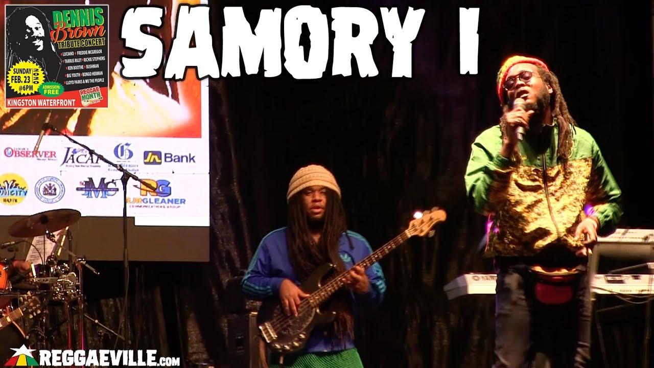 Samory I in Kingston, Jamaica @ Dennis Brown Tribute Concert 2020 [2/23/2020]