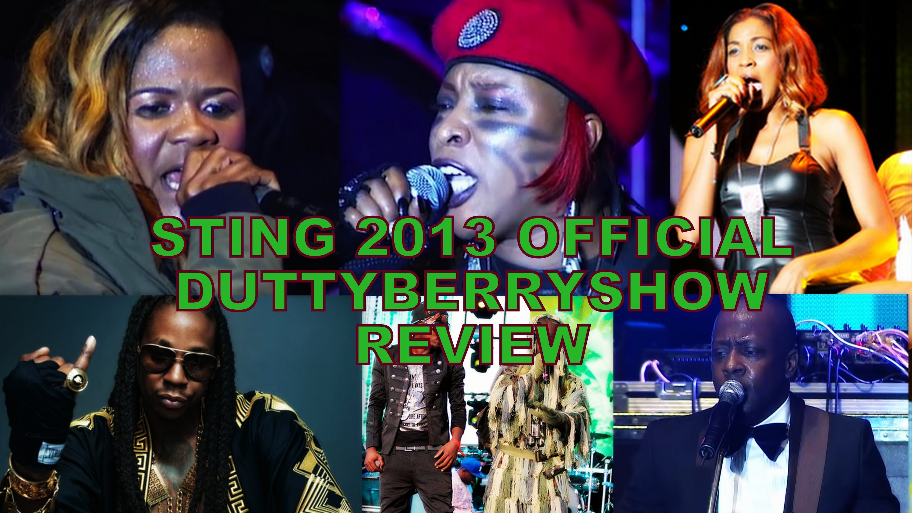 DuttyberryShow - Sting 2013 Review [1/8/2014]