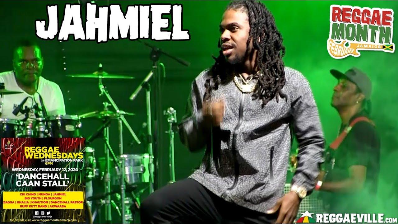 Jahmiel in Kingston, Jamaica @ Reggae Wednesdays - Dancehall Caan Stall 2020 [2/12/2020]