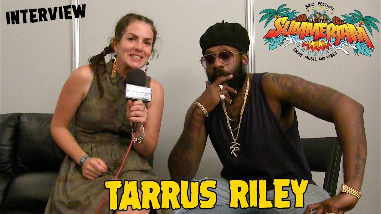 Tarrus Riley - Interview @ SummerJam 2018 [7/7/2018]
