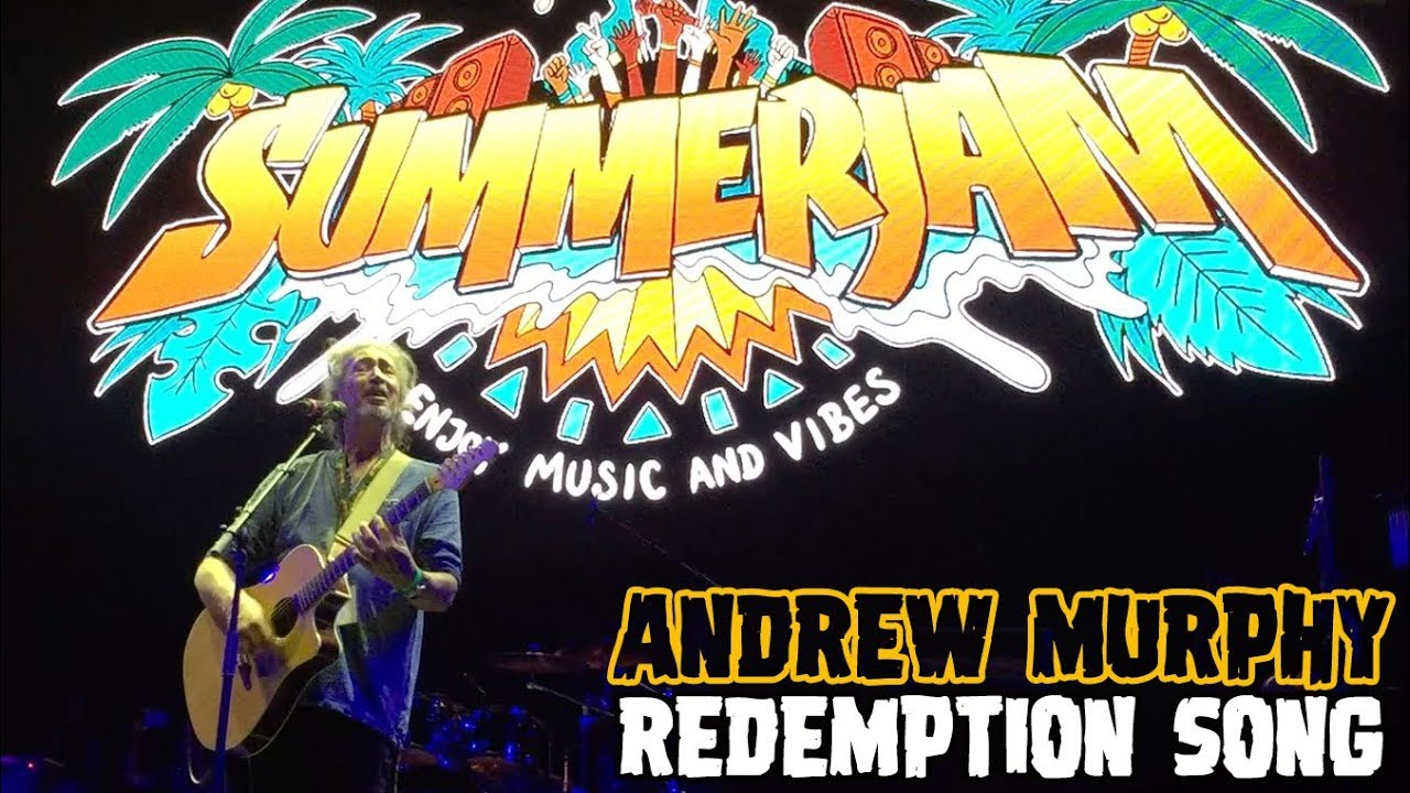 Andrew Murphy aka Mr. SummerJam - Redemption Song @ SummerJam 2018 [7/8/2018]