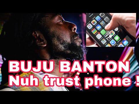 Spragga Benz Listens to New Buju Banton Tune - Mi Nuh Trust Phone [10/31/2019]