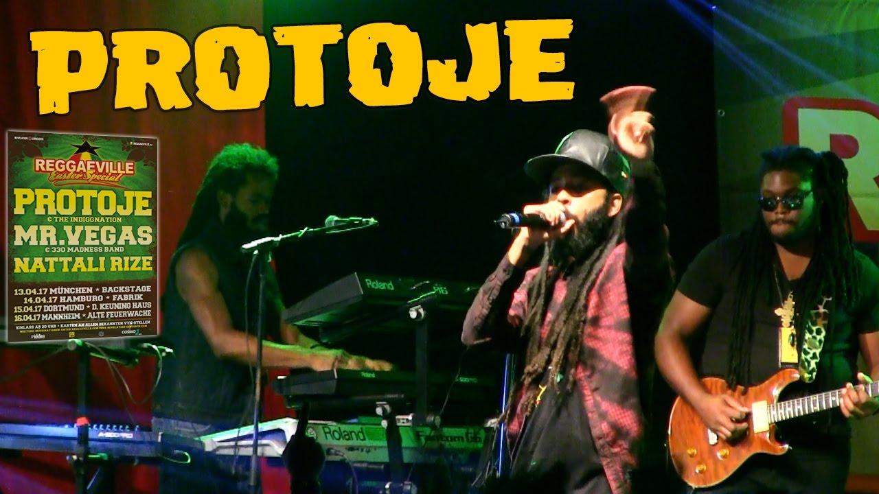 Protoje - Sudden Flight & Rasta Love in Dortmund @ Reggaeville Easter Special 2017 [4/15/2017]