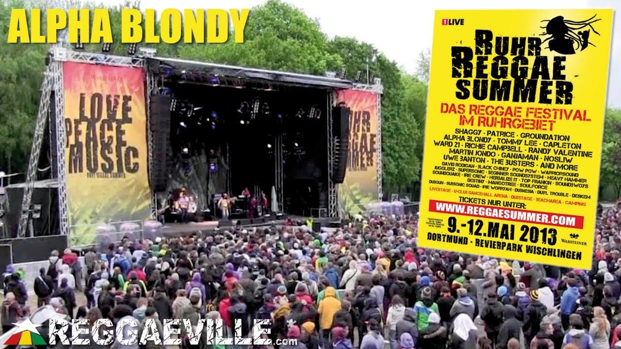 Alpha Blondy @ Ruhr Reggae Summer in Dortmund, Germany [5/12/2013]