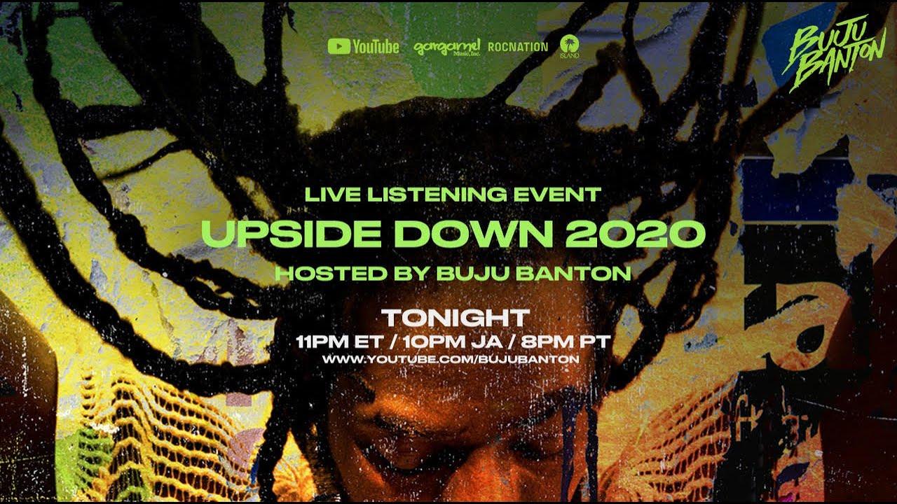 Buju Banton - Upside Down 2020 (Live Listening Party) [6/25/2020]