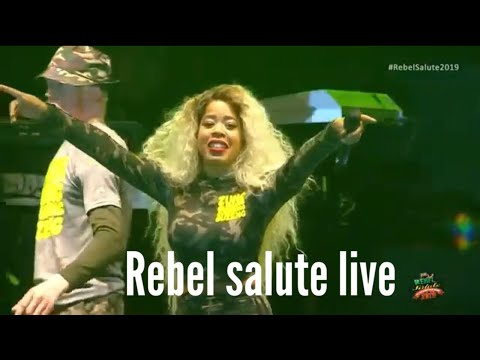 K'reema - Behind The Scenes @ Rebel Salute 2019 [1/26/2019]