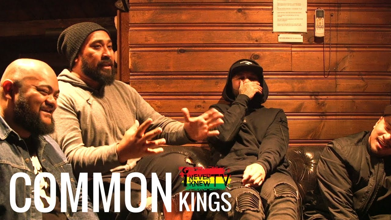 Interview with Common Kings @ I NEVER KNEW TV [3/15/2018]
