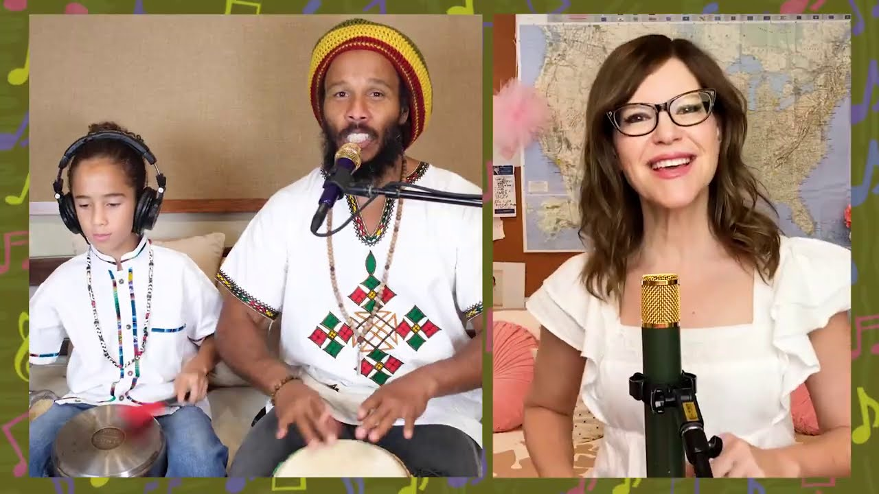 Ziggy Marley feat. Lisa Loeb - Music Is In Everything (Live At Home) [10/16/2020]