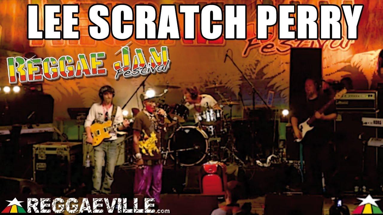 Lee Scratch Perry & ERM @Reggae Jam [8/3/2013]