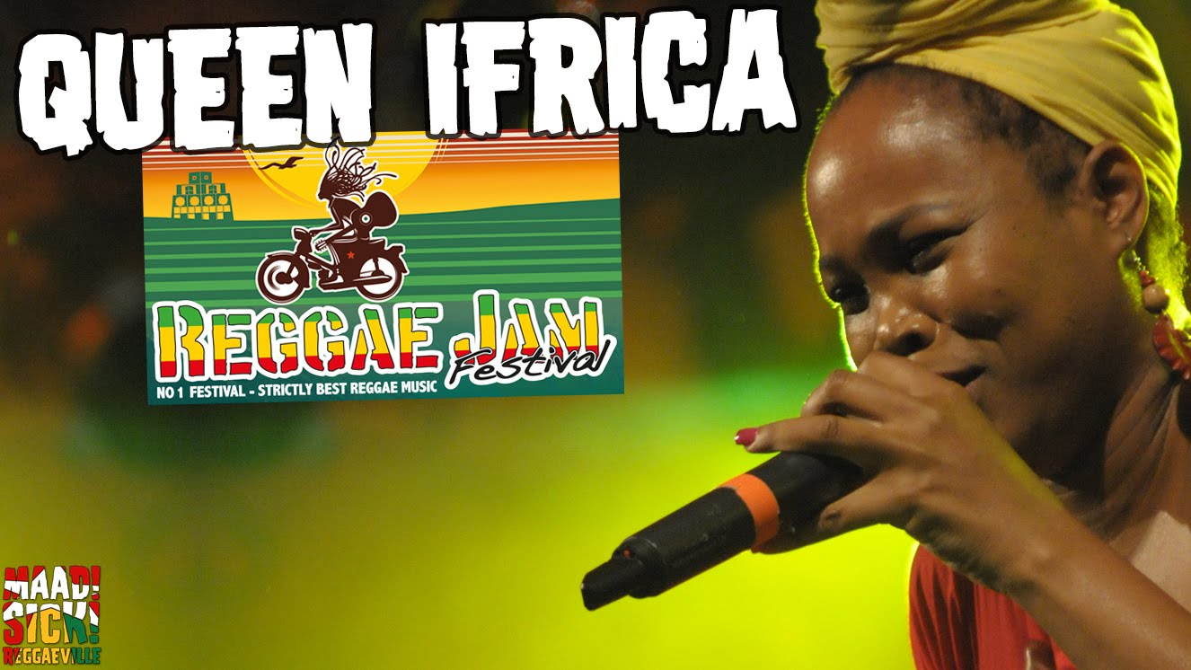 Queen Ifrica - Another Hit Song @ Reggae Jam 2016 [7/31/2016]