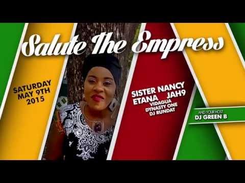 Etana @ Salute The Empress 2015 (Shout Out) [4/29/2015]