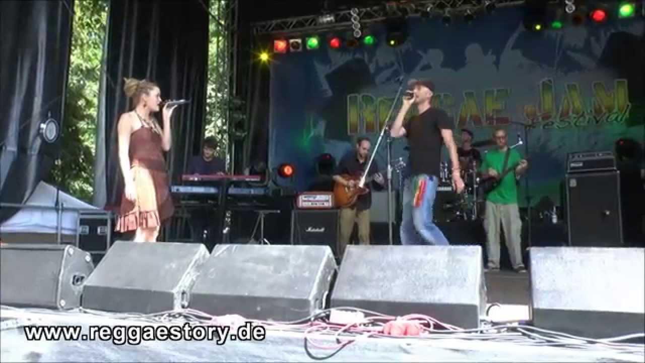 Saralène & Spruddy - Thunderstorm @ Reggae Jam 2014 [8/3/2014]