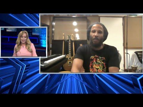 Ziggy Marley Interview @ KUSI News [5/22/2021]