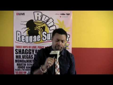 Shaggy @ Ruhr Reggae Summer [shout-out] [7/26/2009]