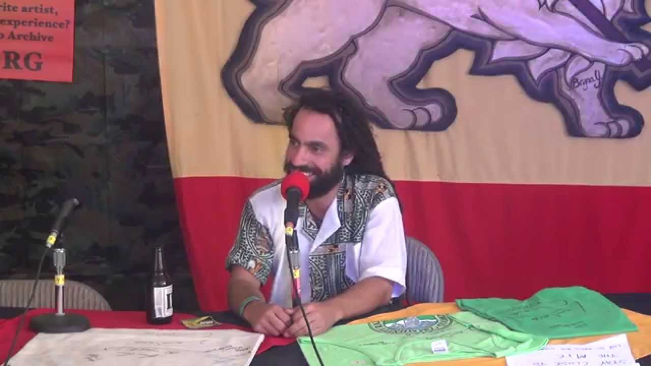 Interview with Lior Ben-Hur @ Reggae On The River 2015 [8/7/2015]