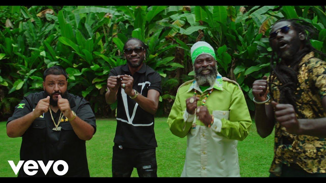DJ Khaled ft. Buju Banton, Capleton, Bounty Killer & Barrington Levy - Where You Come From [5/1/2021]