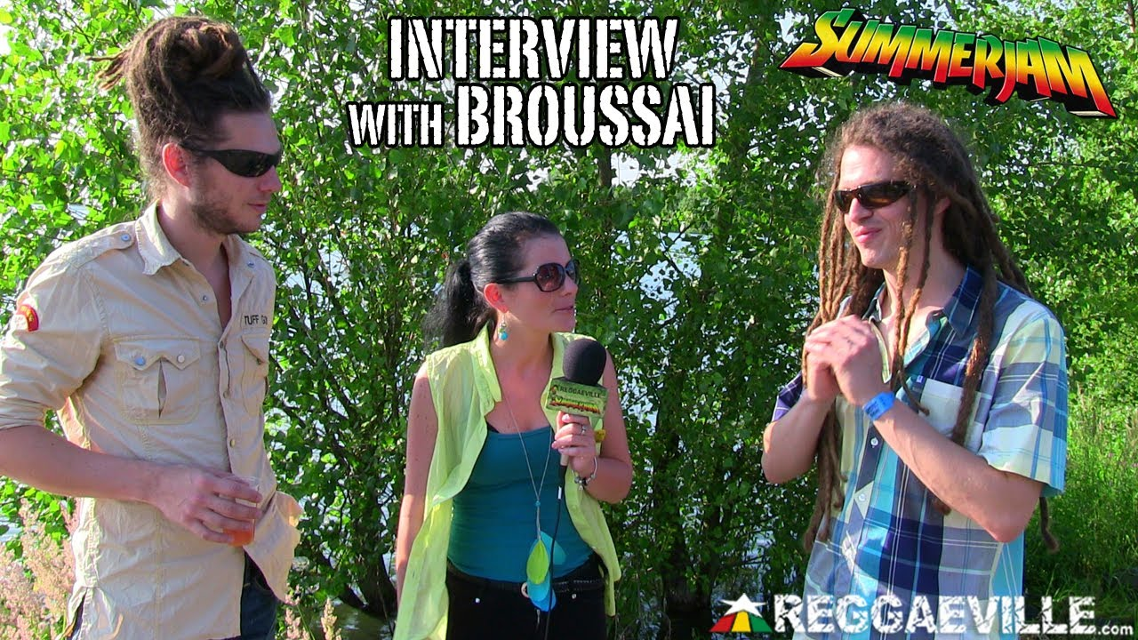 Interview with Broussai @ SummerJam [7/7/2013]