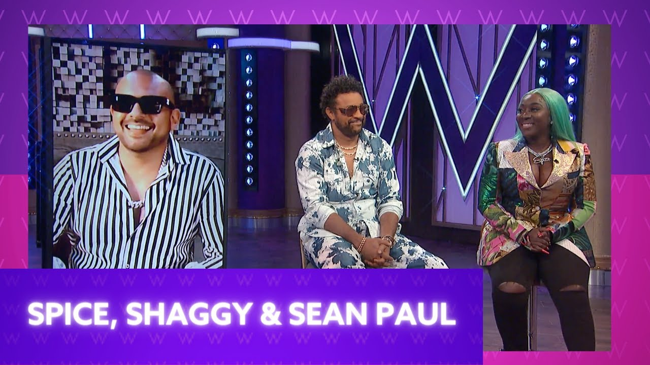 Spice, Sean Paul, & Shaggy Interview @ The Wendy Williams Show [6/18/2021]