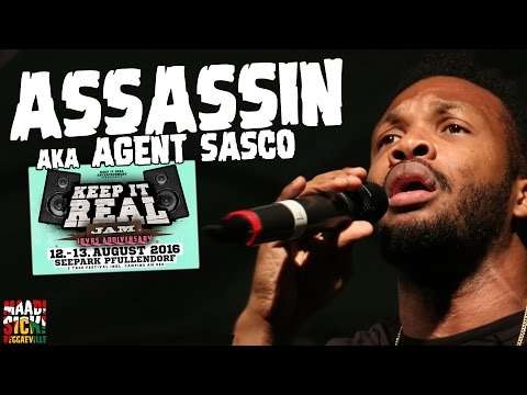 Assassin aka Agent Sasco - Step Pon Dem / Ruffest and Tuffest / Pull Up @ Keep It Real Jam 2016 [8/12/2016]