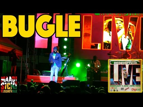 Bugle in Kingston, Jamaica @ Redemption Live 2016 [2/7/2016]