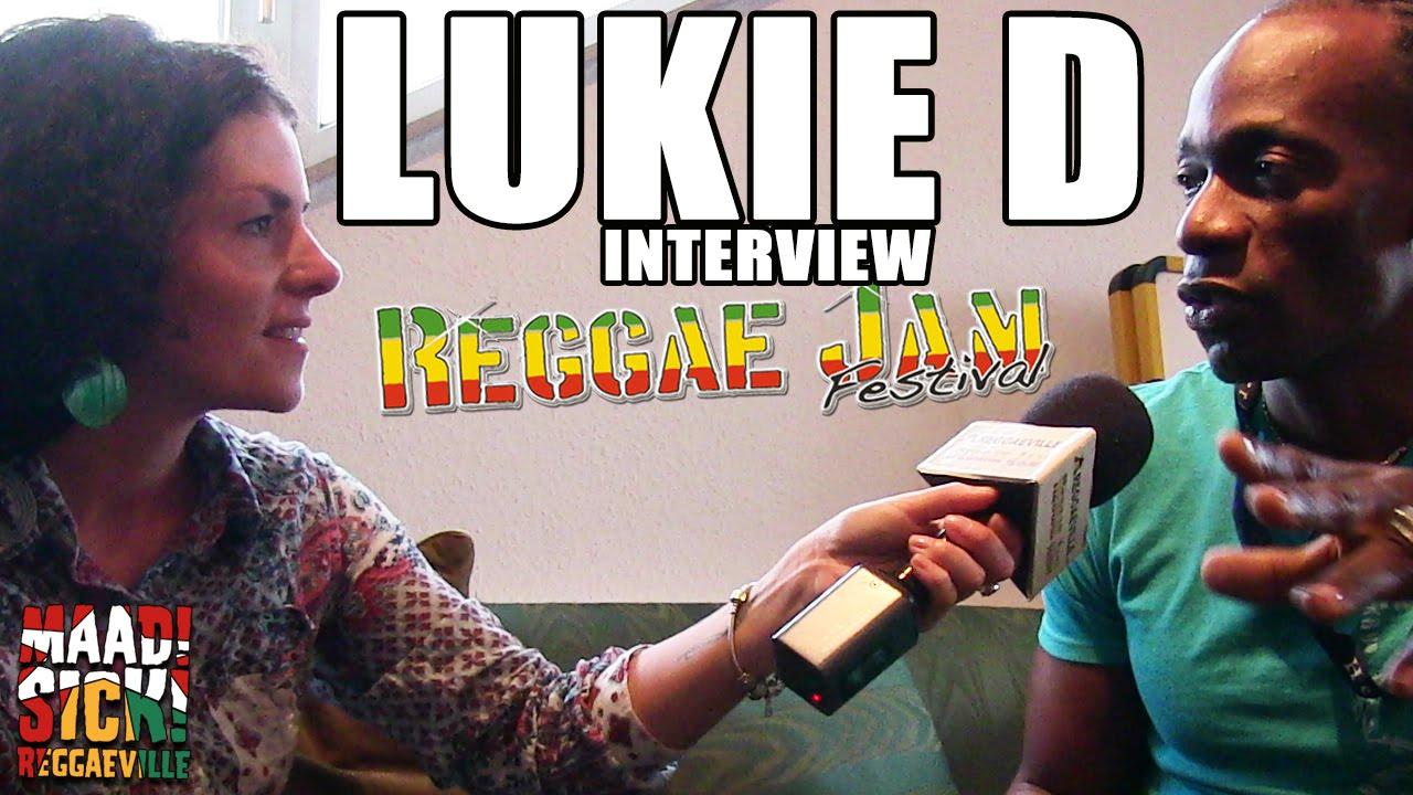 Interview with Lukie D @ Reggae Jam 2015 [7/25/2015]