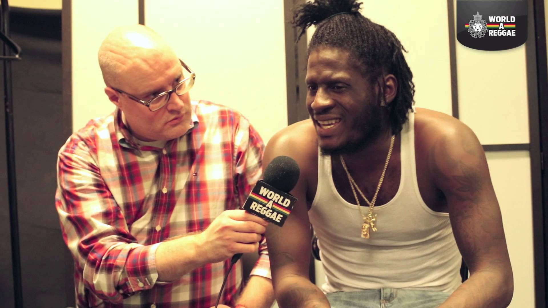 Interview with Aidonia in Amsterdam, Netherlands [11/2/2014]