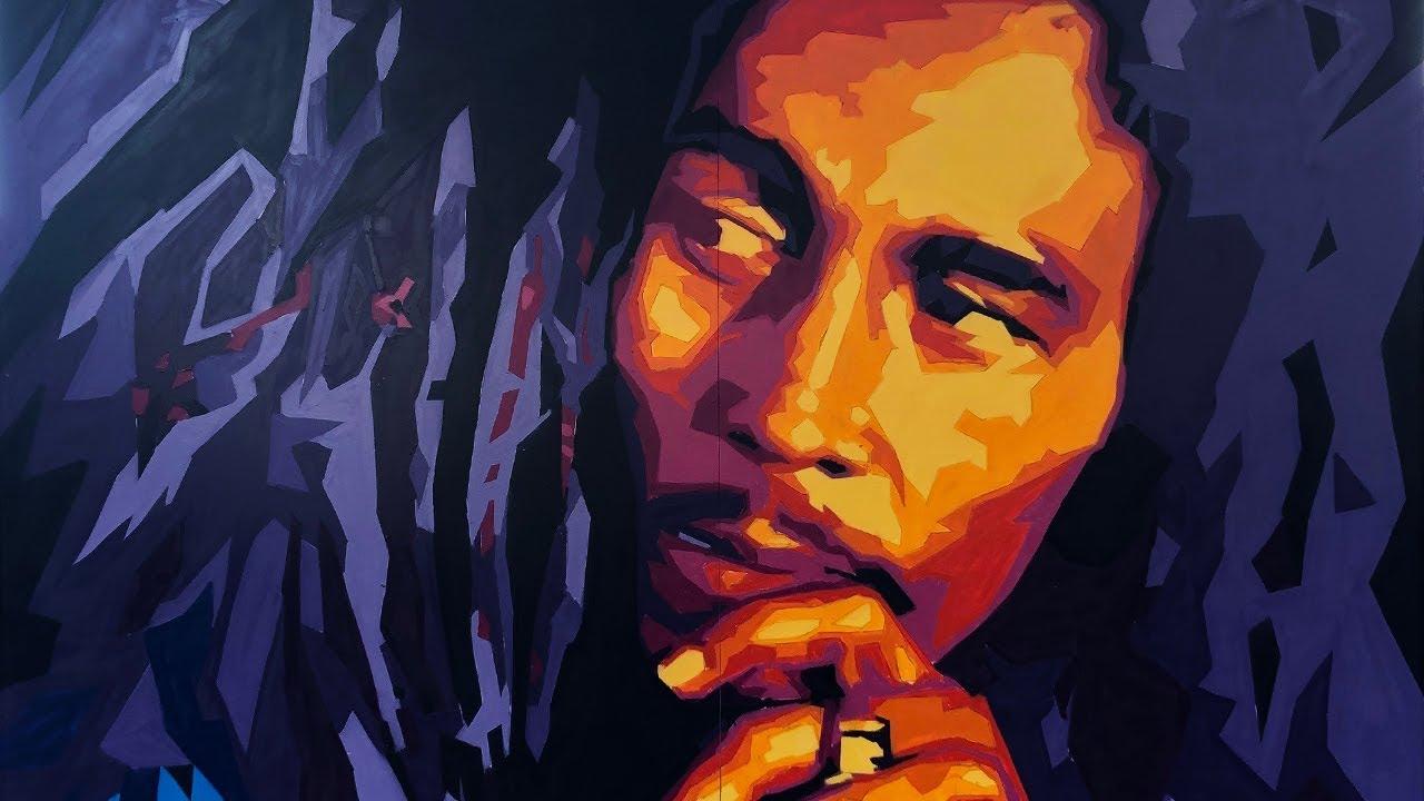 Bob Marley – Making of the Legend Mural at Kaya Fest [6/13/2019]