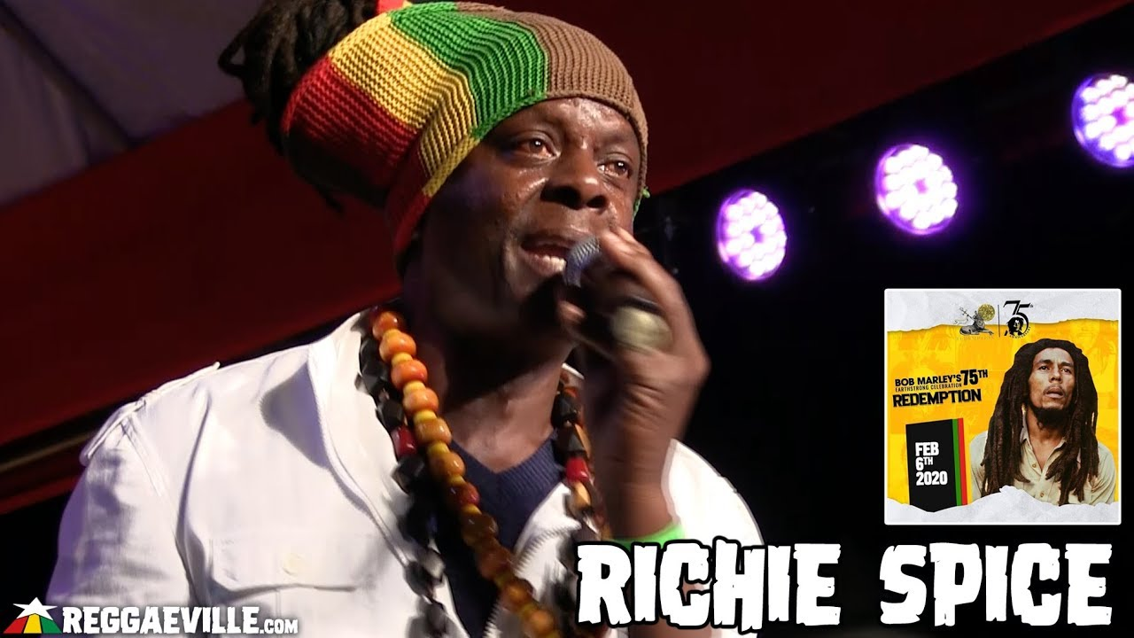 Richie Spice @ Bob Marley 75th Earthstrong Celebration in Kingston, Jamaica [2/6/2020]