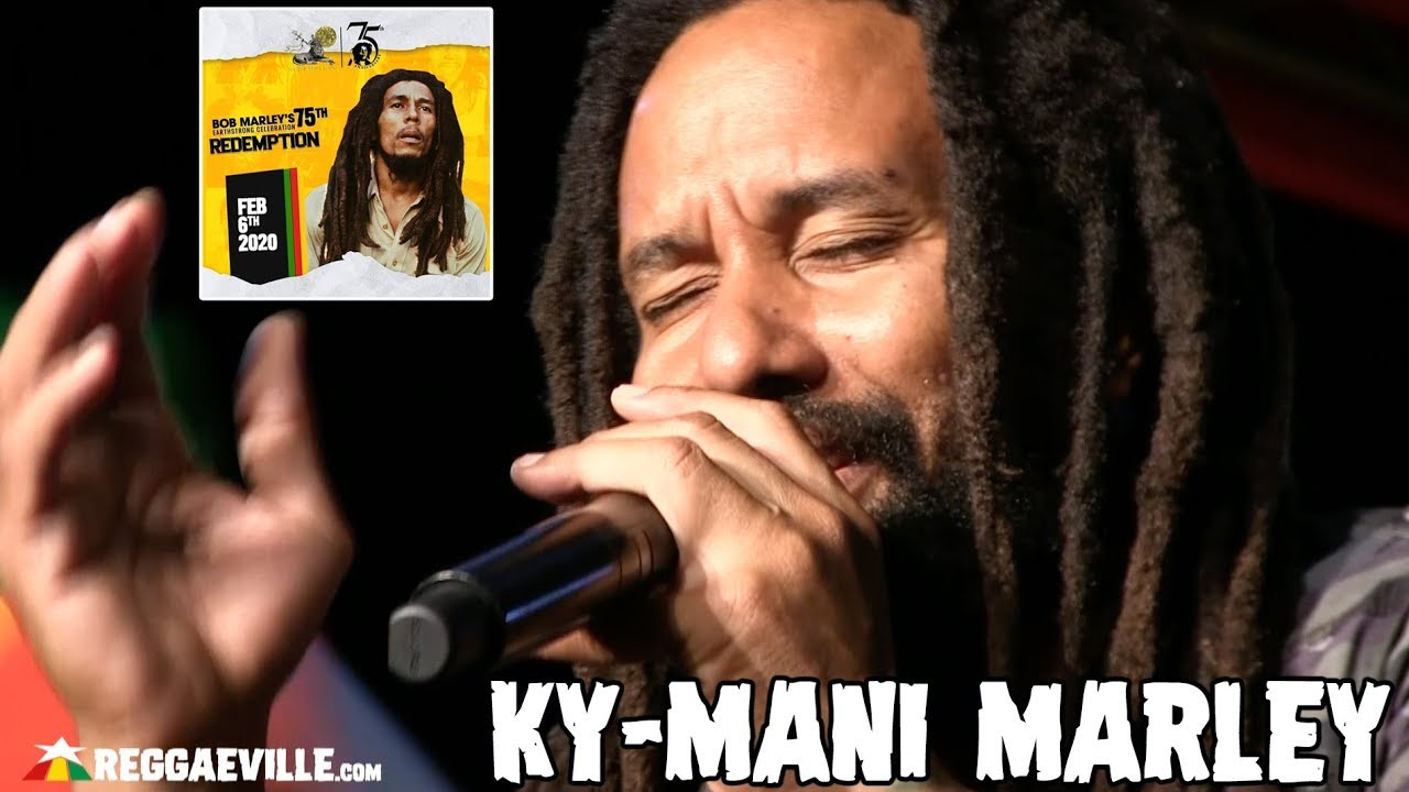 Ky-Mani Marley @ Bob Marley 75th Earthstrong Celebration in Kingston, Jamaica [2/6/2020]
