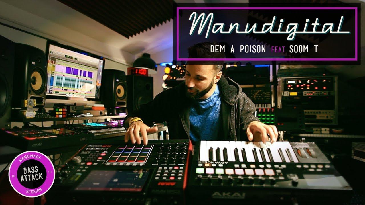 Manudigital feat. Soom T - Dem A Poison [9/21/2018]